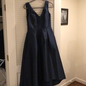 Alfred Sung High/low Bridesmaid dress